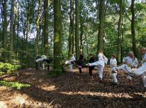 Sparketræning i skoven