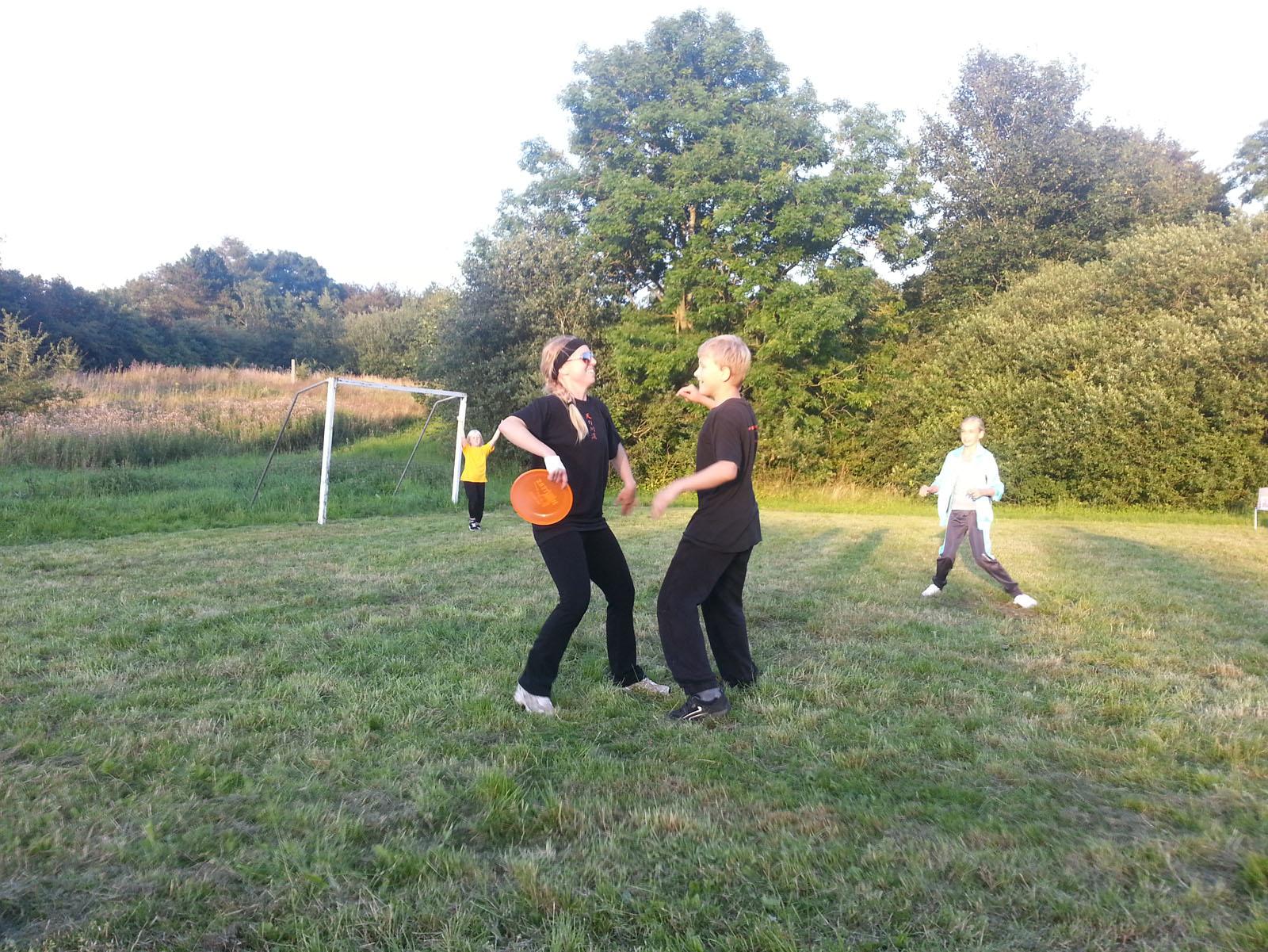 Frisbee kamp
