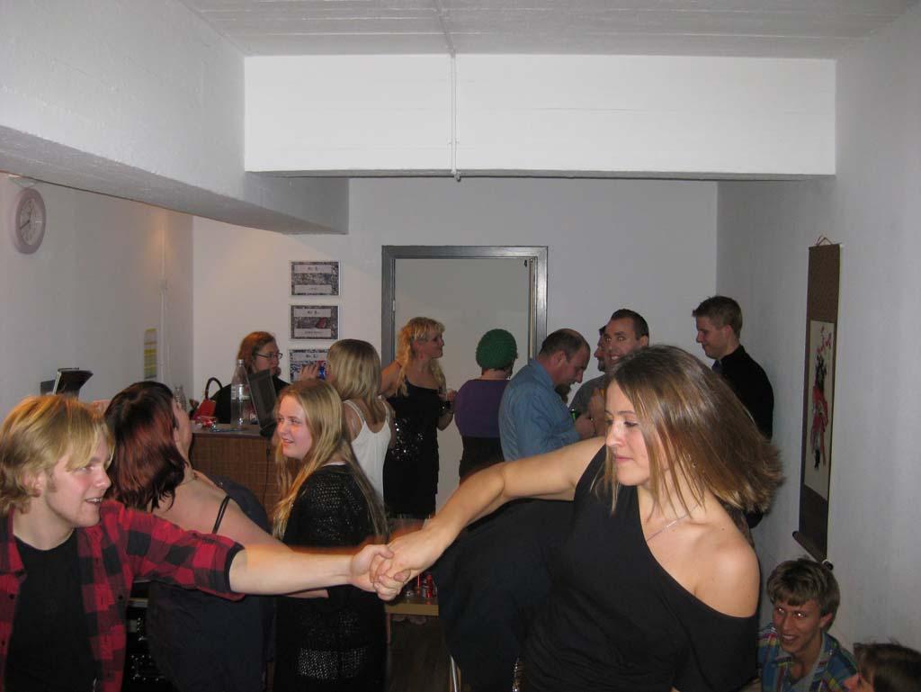 Danse, danse... Frede og Anne...