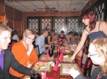 Spisning på kinesisk restaurant...