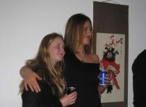 Camilla og Anne hygger...
