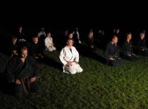 Meditation før nattræning...