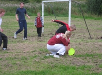 Frisbee kamp...