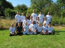 De gæve vikinger i camp t-shirt 2015