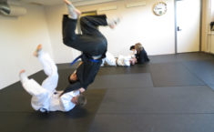 Jiu-jitsu kast - en flyvende japaner