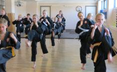Karate - spark til en graduering