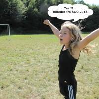 Janice er også klar til billeder fra SGC...