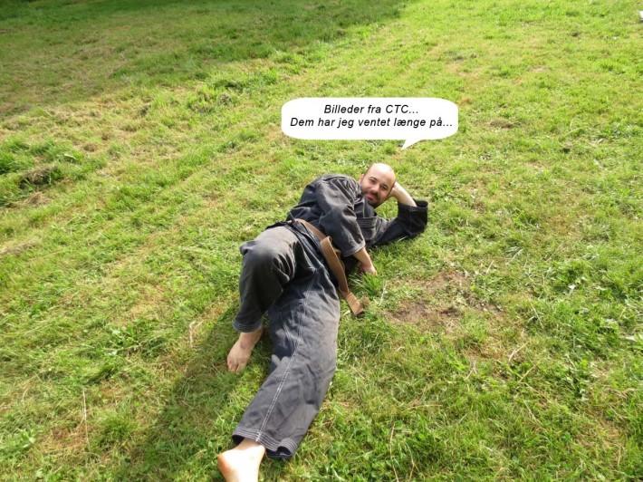 Henrik kan ikke vente på billederne fra CTC.