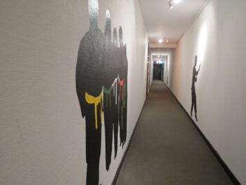 Dødsgangen efter 2013, med mere lys og udsmykning på væggene